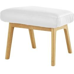 Photo of Stool – white – 53 cm – 41 cm – 40 cm – upholstered furniture> Stool furniture KraftMöbel Kraft
