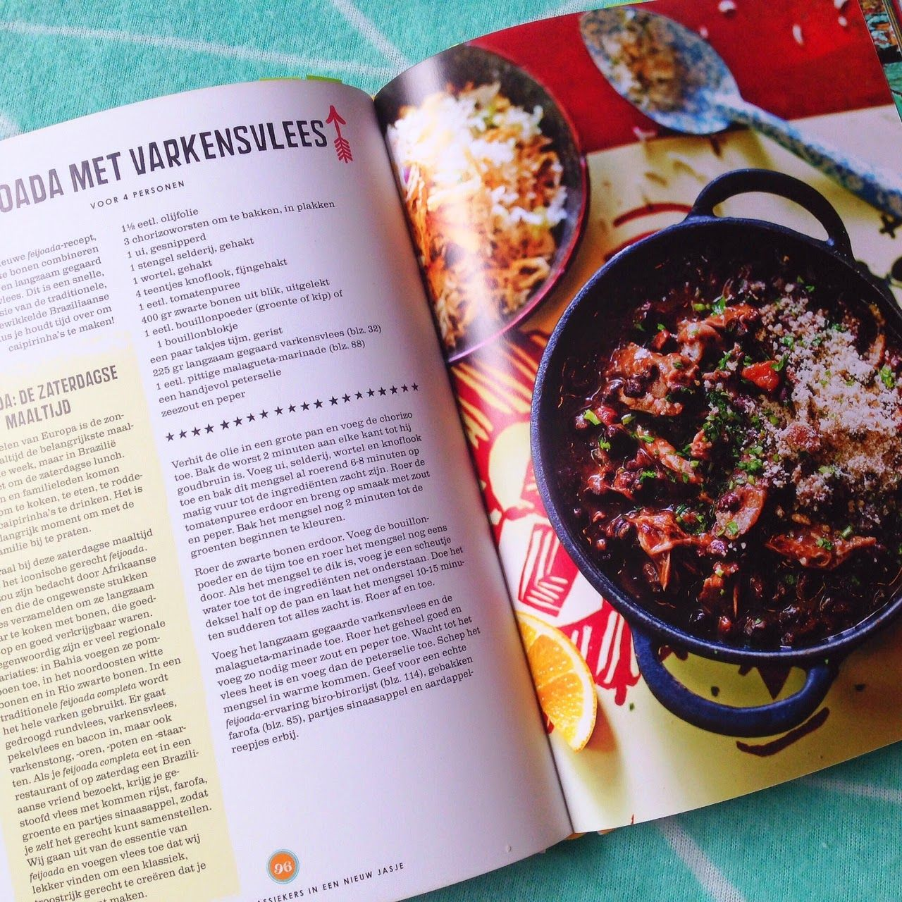 Feijoada with pork a traditional brazilian recipe with a modern recipe forumfinder Images