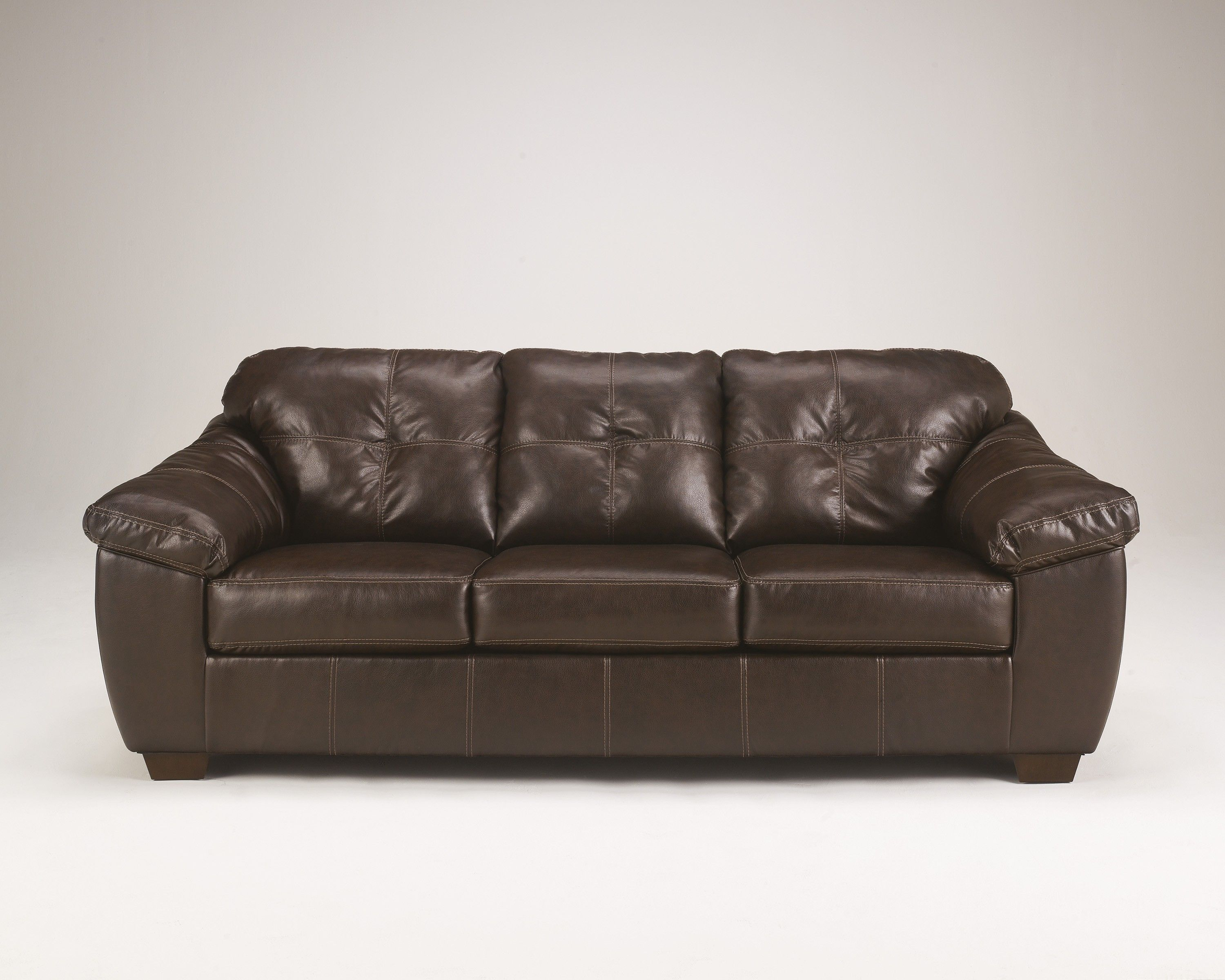 signature design by ashley san lucas harness sofa faux leather rh pinterest com