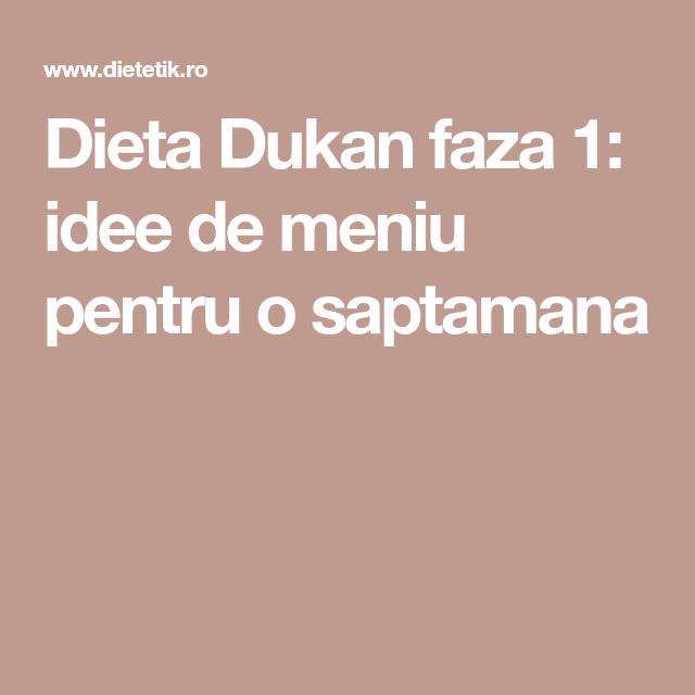 Dieta Dukan de la A la Z
