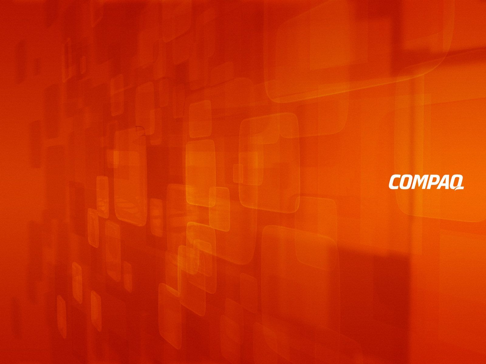 Orange Compaq Wallpaper rouge et orange Fonds d'écran