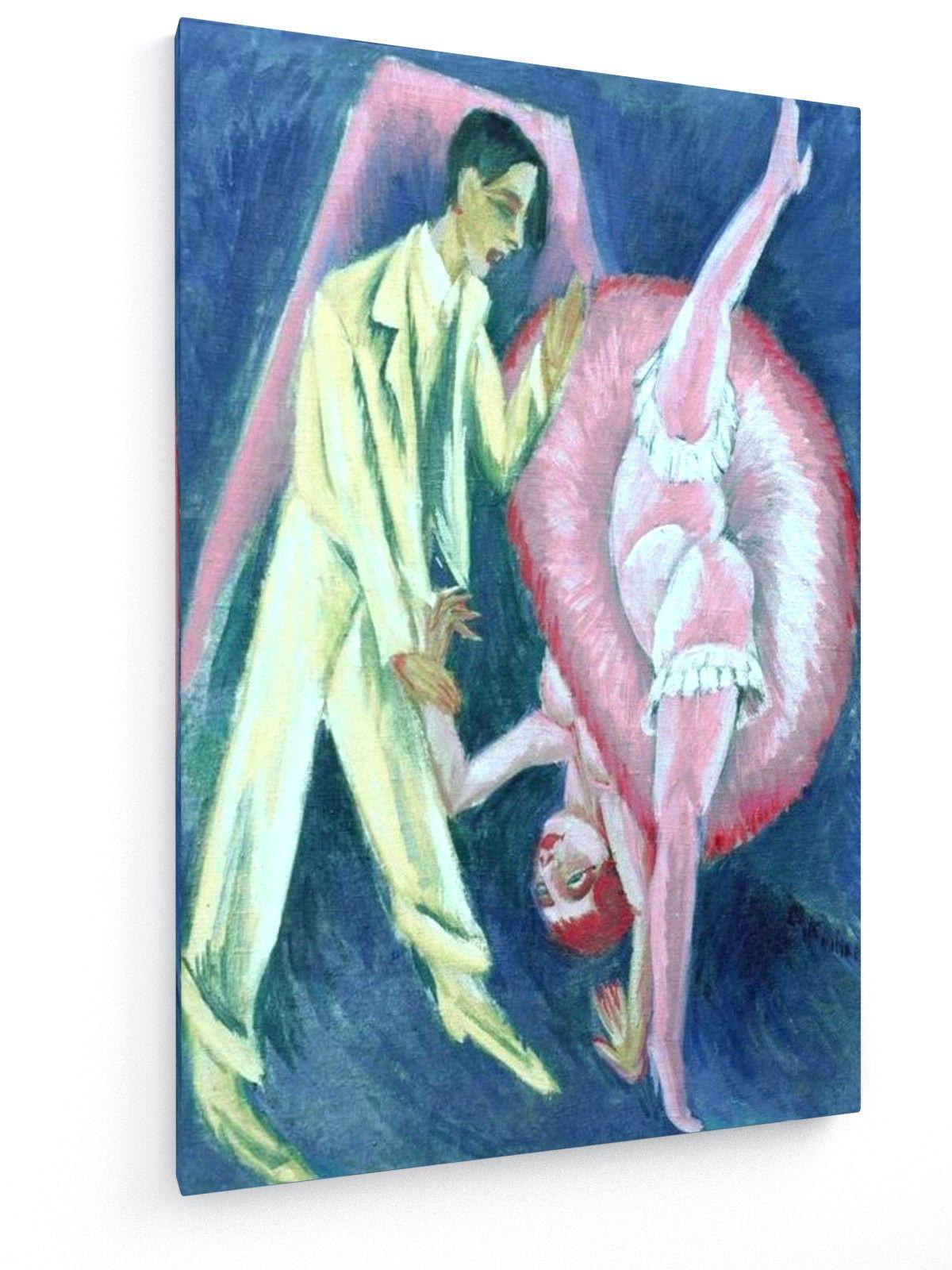 Textil-Leinwandbild - Ernst Ludwig Kirchner, Tanzpaar