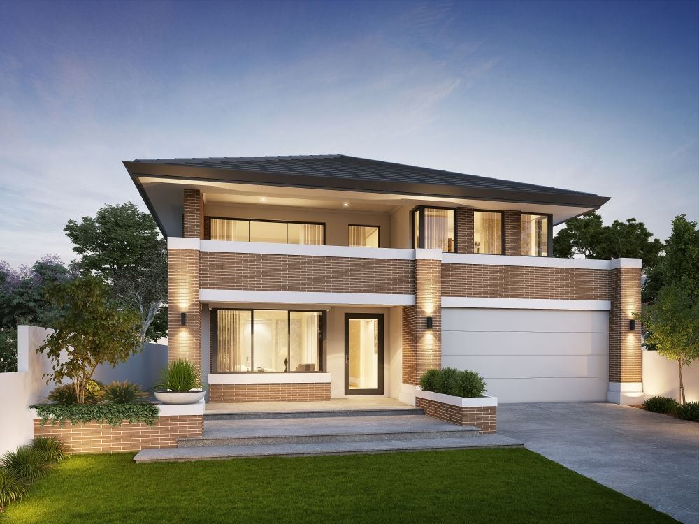 Willow 14 5m Wide Traditional Two Storey Home Design Hamptons House Exterior Building Plans House Modern Exterior House Designs