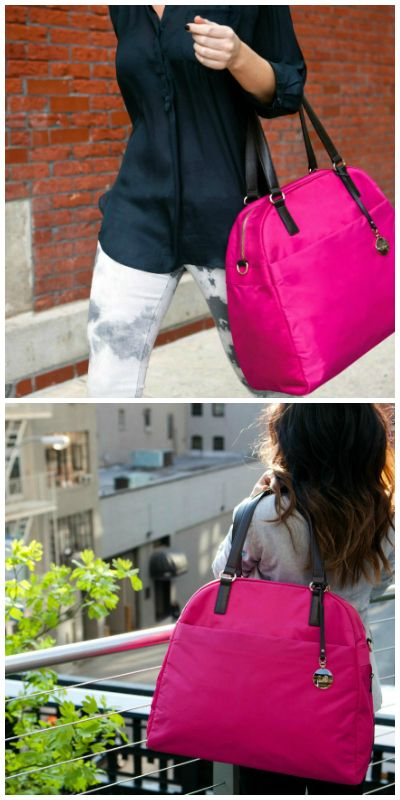 Lo & Sons O.M.G Travel Bag Review & {GIVEAWAY} - great for all those food travels :)