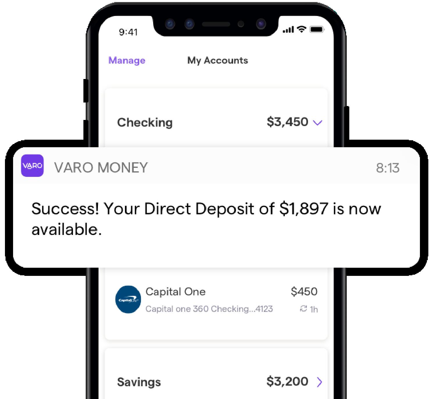 Referral April 2019 Varo Money Visa Debit Card Banking App High Yield Savings