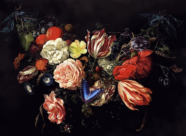 A Wacom Journey Flemish Flowers Floral Painting Floral Art Flower Painting