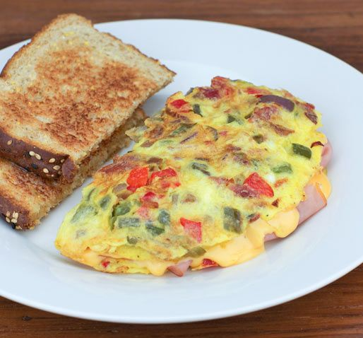 Denver Omelet Salad Recipe: Breakfast Ideas