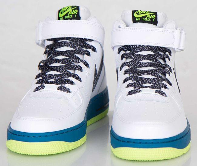 Nike Air Force 1 Mediados De Color Verde Abismo precio barato comercializable nuevos estilos Wjn2h