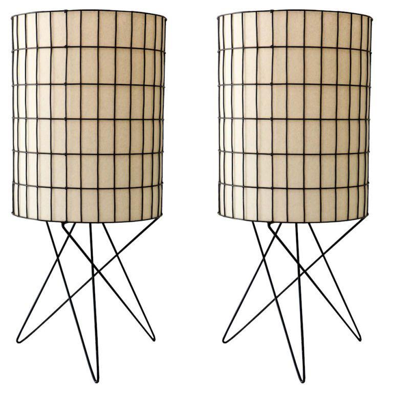 Paul Mayen Table Lamps 1950s Huis Verlichting Lampen Interieur