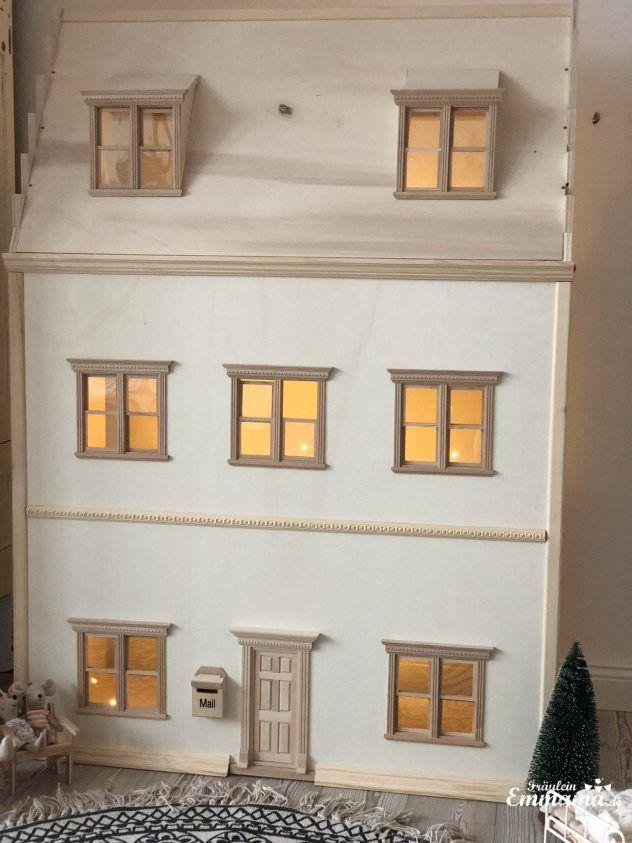 DIY: Puppenhaus im viktorianischen Stil für Maileg selber bauen - Fräulein Emmama #victoriandolls