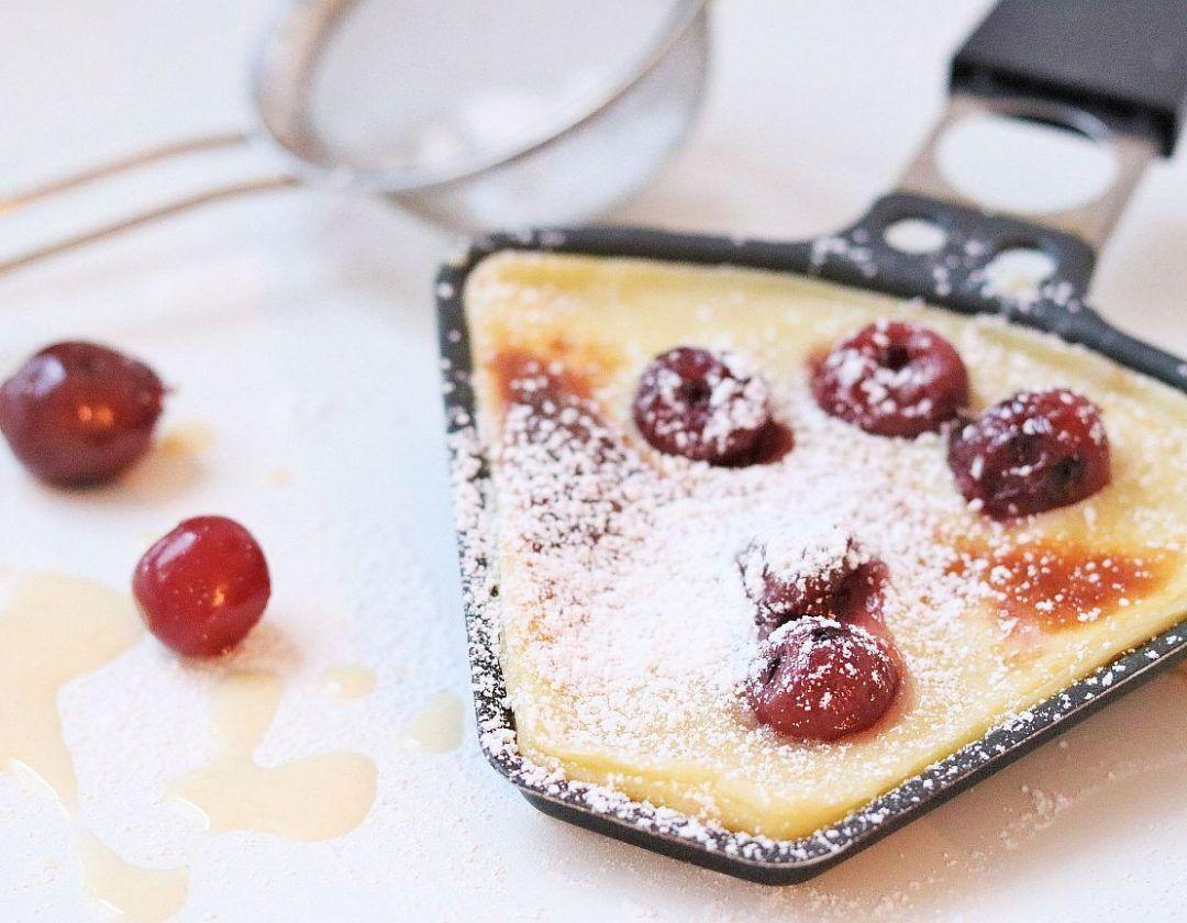 raclette special dessert im pf nnchen rezept essen. Black Bedroom Furniture Sets. Home Design Ideas