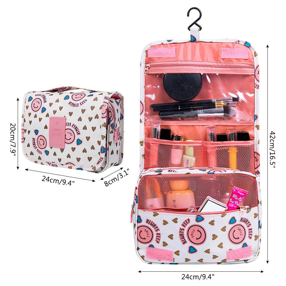 a250751a5deb5 Vox Hanging Toiletry Bags for Women Makeup bag Wash Bag Folding ...