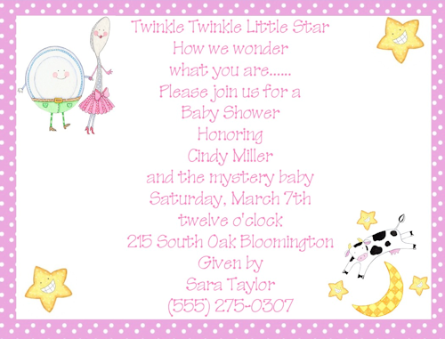 Nursery Rhyme Baby Shower Theme | Shop Our Store U003e Nursery Rhymes Pink Girl Baby  Shower