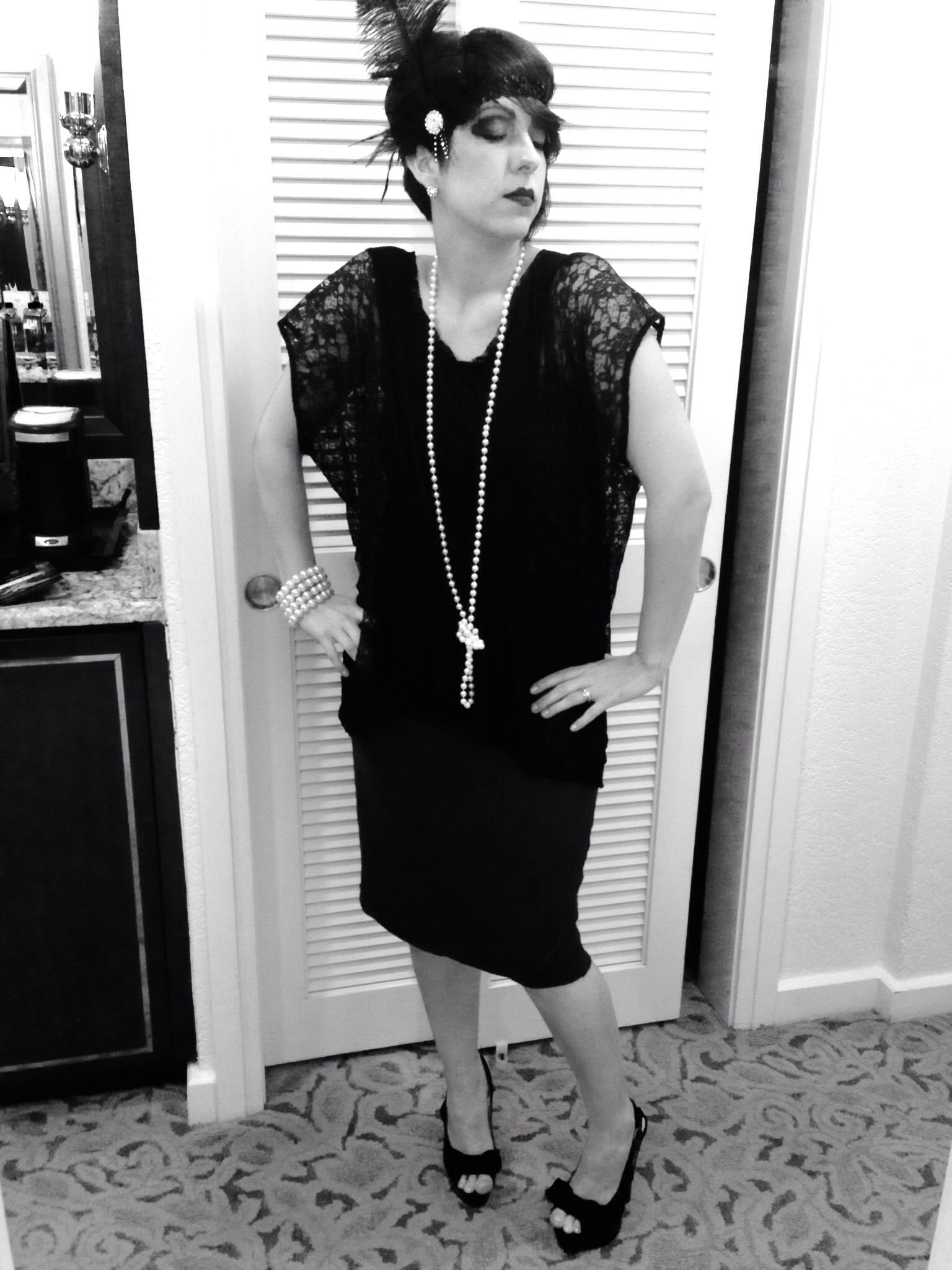 flapper costume for a great gatsby or roaring 20s prohibition theme party this new years eve