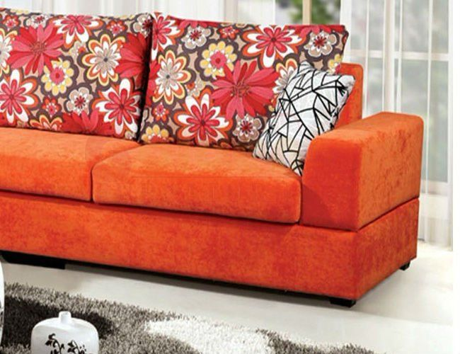 Orange Couch Cover | Couch Covers | Couch covers, Orange couch, Couch