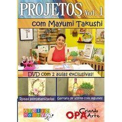DVD Projetos Vol. 1 - Mayumi Takushi