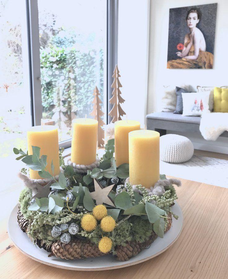 Mein Advent wird......gelb :star: #weihnachtlicheszuhause
