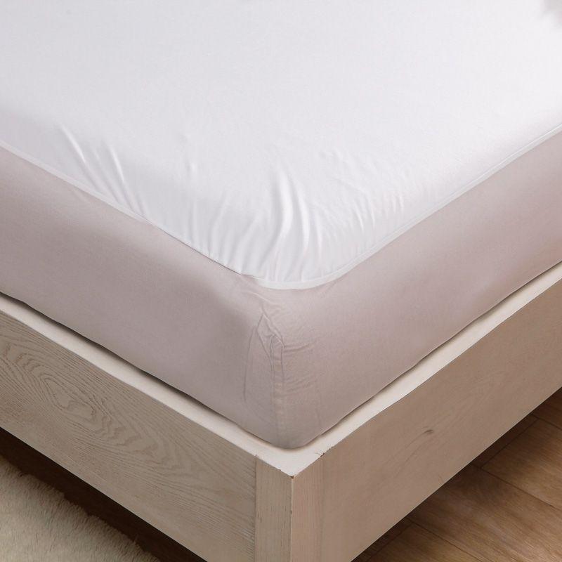 Bed Waterproof Cover Queen Size Smooth Waterproof Mattress Protector
