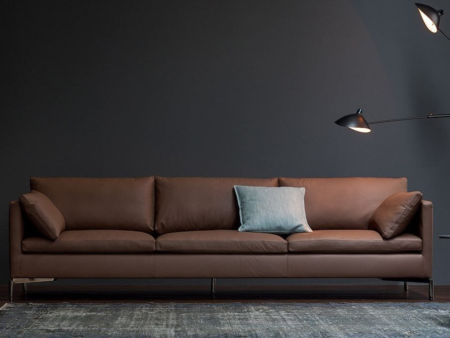 Download The Catalogue And Request Prices Of Reef Sofa By Novamobili 3 Seater Leather Sofa Reef Collection With Images Sofa Living Room Sofa Design