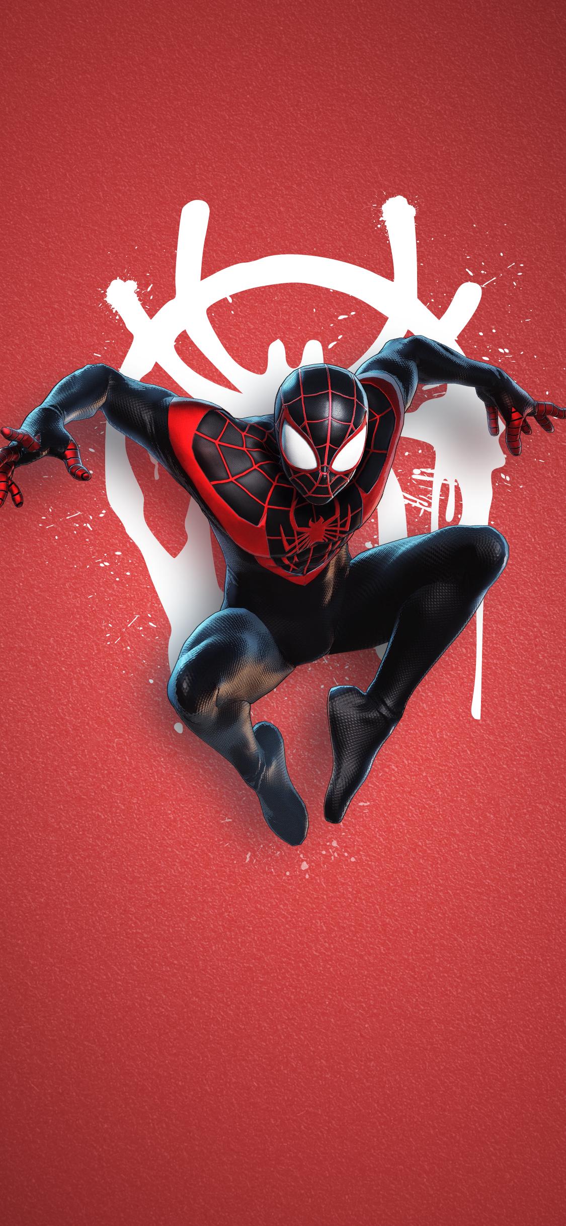 Playstation 5 Spiderman Miles Morales Marvel Spiderman Art Marvel Superhero Posters Miles Morales Spiderman