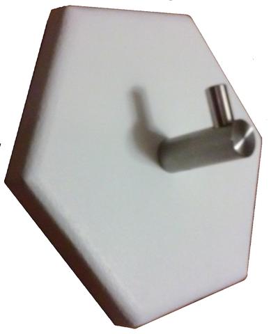 Modern 1 Hook Hexagon Coat Rack