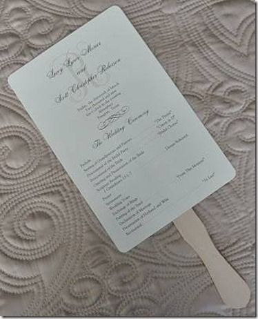 wedding day program from knowthatdress Wedding Pinterest