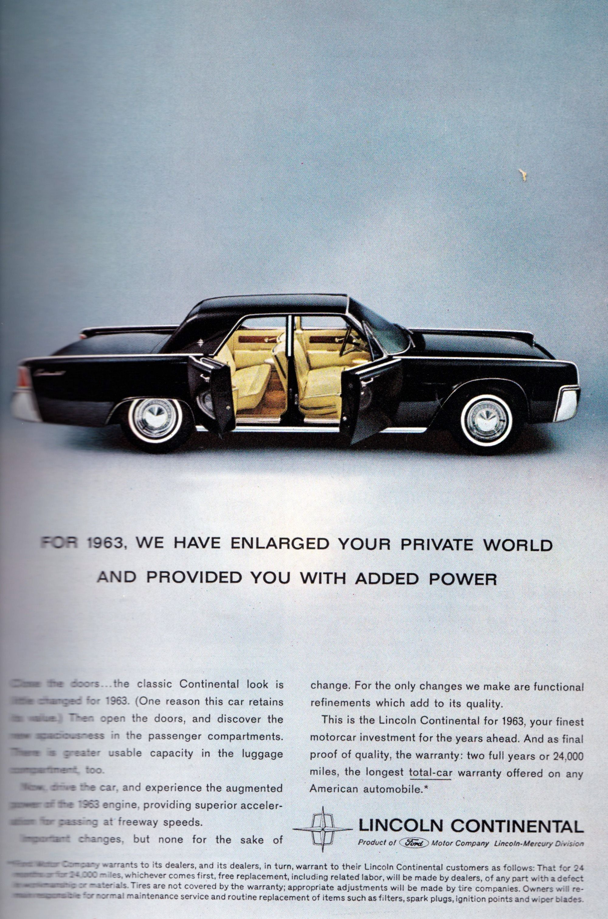 1963 Lincoln Continental Vintage Ads 1950s 1970s In 2018 Cars