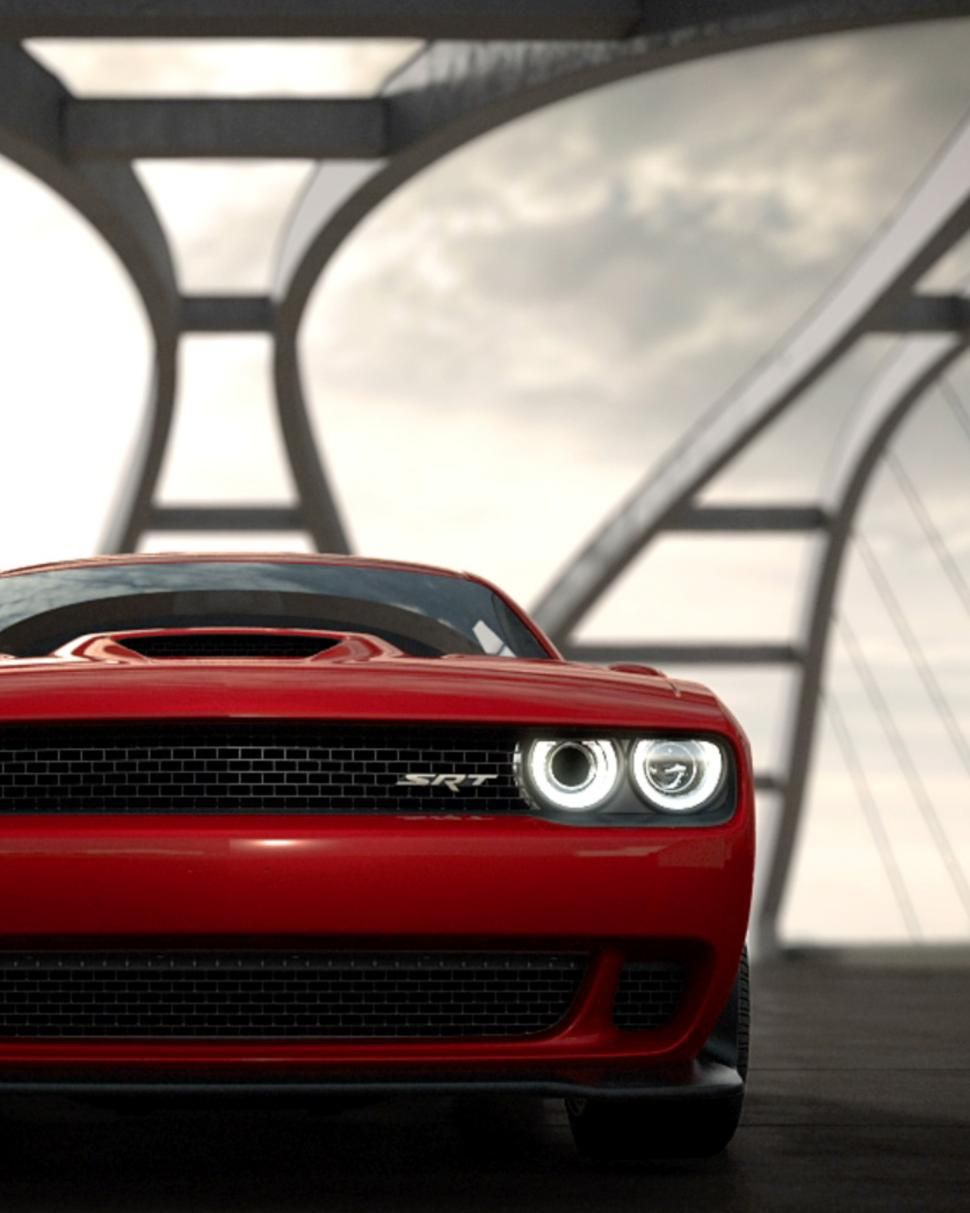 Dodge challenger srt hellcat ring tone announces your muscle car allegiance