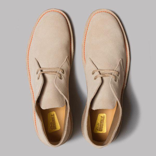91ee56c176 Clarks Originals Desert Boot 65 Made In England (Sand Suede) | Men's ...