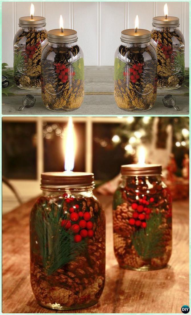 12 Amazing Festive DIY Ideas for Mason Jar Lighting 7