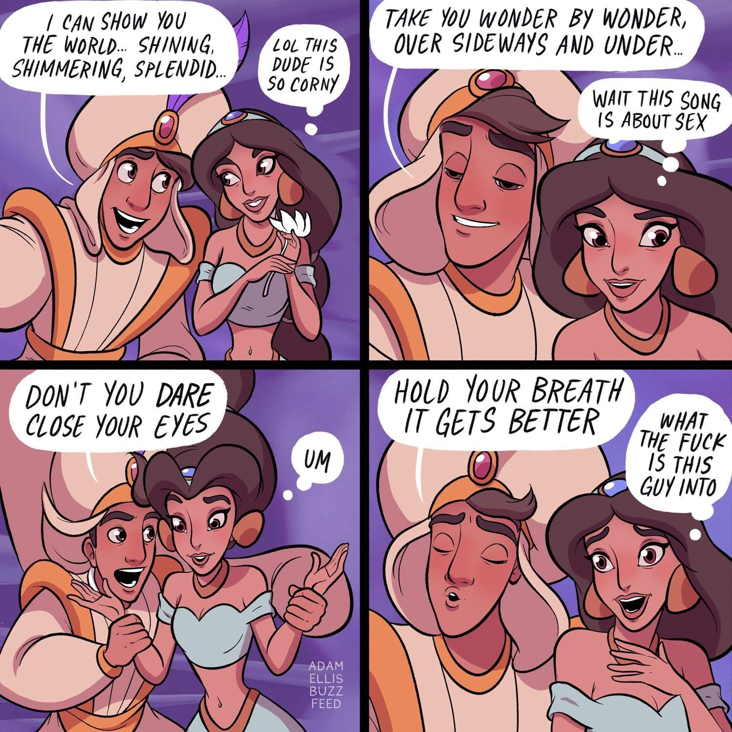 Disney Adam Buzzfeed I M Not The Only One Who Thought This Was