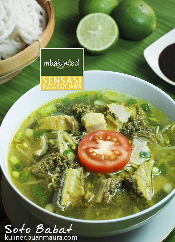 Resep Soto Babat Salah Satu Kekayaan Kuliner Indonesia Resep Masakan Masakan Resep