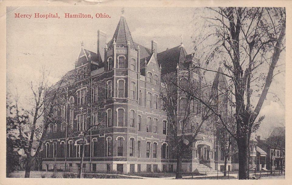 Mercy Hospital 1915 in Hamilton, Ohio Barcelona