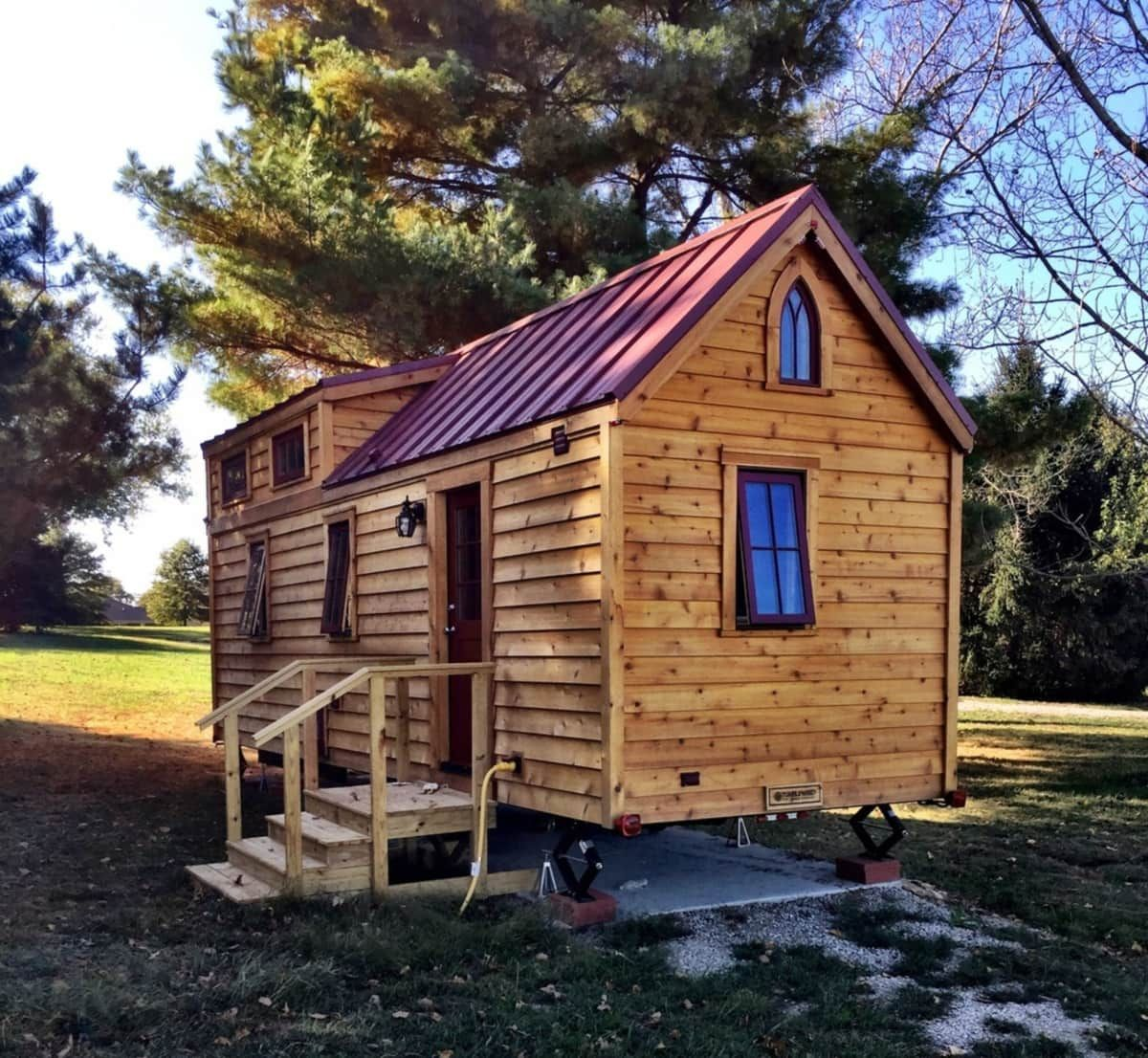Tumbleweed Tiny House Shell Tiny House For Sale In Jeffersonville Indiana Tumbleweed Tiny Homes Tiny House Tiny Houses For Sale