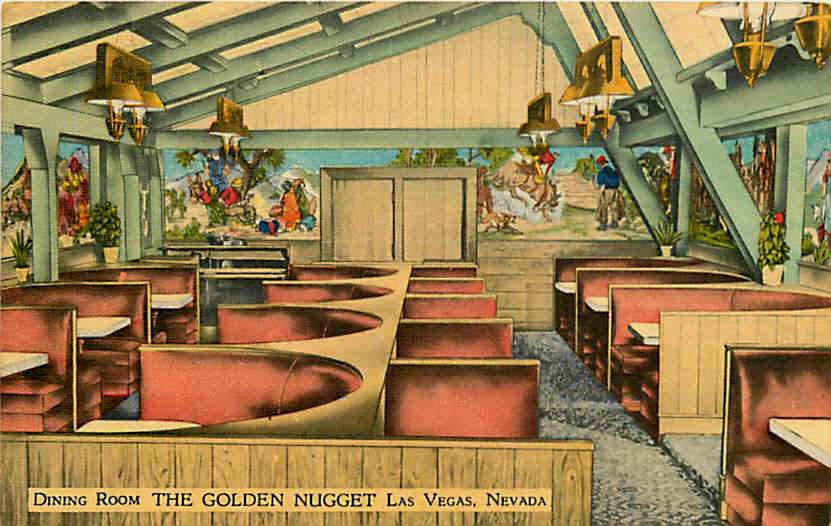 The Golden Nugget C. 1946. The 1905 Date Refers To The Founding Of The Town  And Fit In With The Old West Theme Of The Casino.   Old Las Vegas    Pinterest