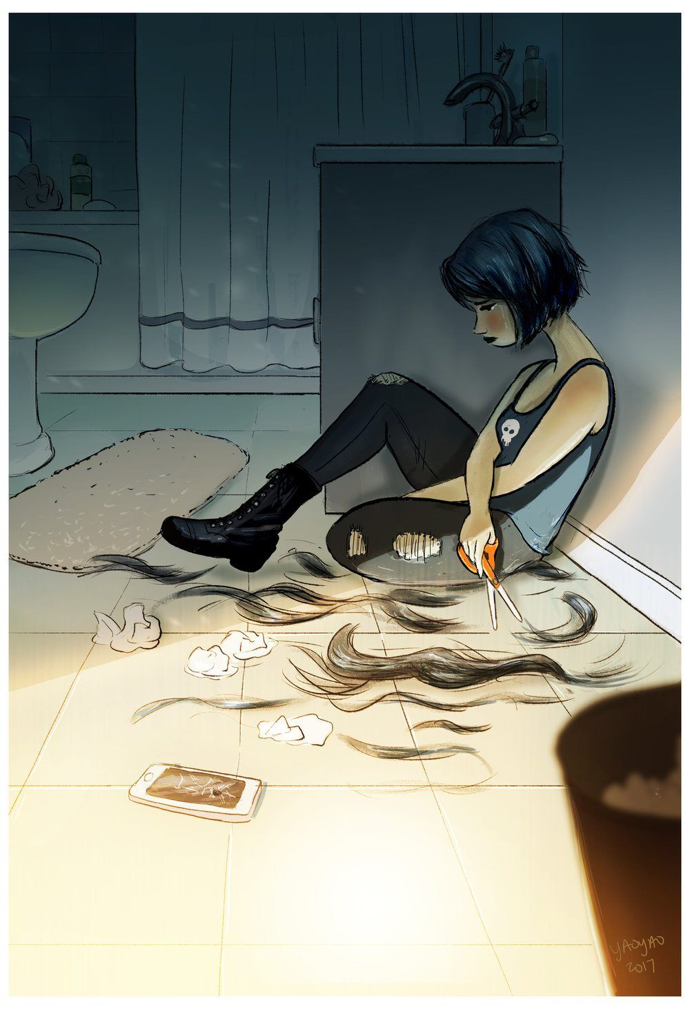 Artist Perfectly Illustrates The Joys Of Living Alone. The Photos Are So Relatable