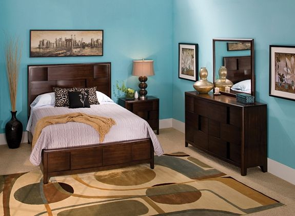 Saratoga 4Pcqueen Platform Bedroom Set W Storage Bed  Bedroom Fair Raymour And Flanigan Bedroom Sets Decorating Inspiration