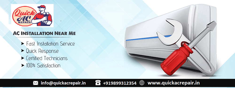 How to Find the Best AC Installation near Me in Delhi/NCR
