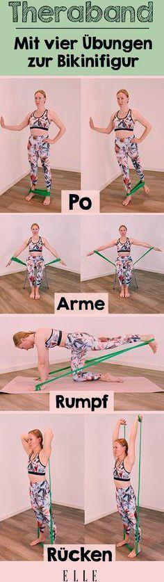 Wer auf Krafttraining setzt, um fit zu bleiben, wird um Übungen mit dem Theraband bisher nur schwer...