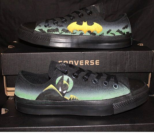 Batman the Animated Series Custom Converse by