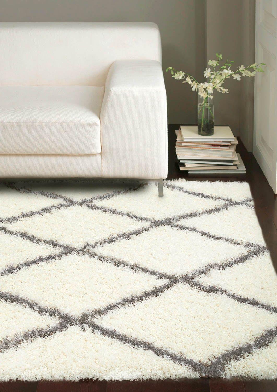 moroccandiamond shag rug | rugs usa, grey rugs and moroccan