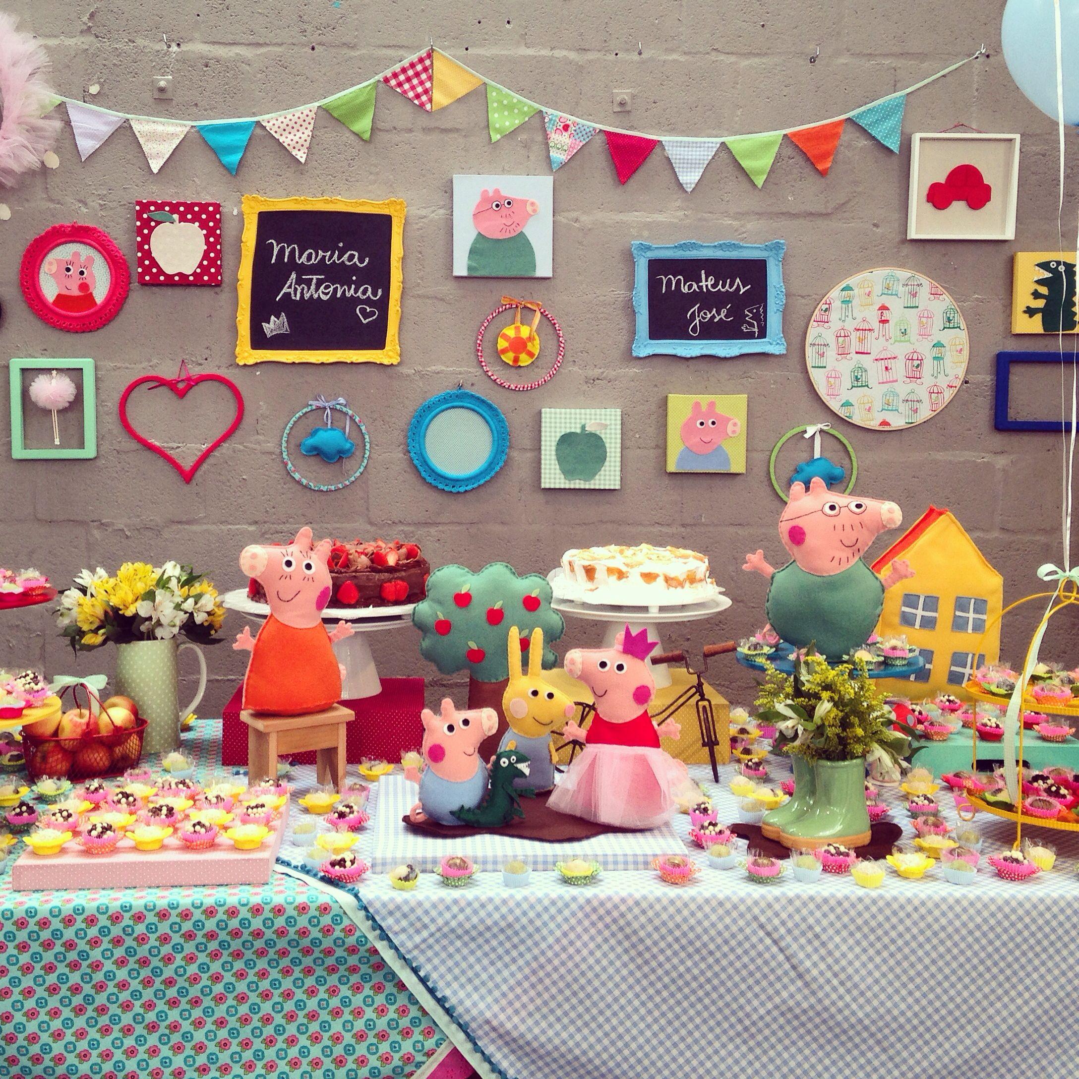 Festa Peppa Pig Decoracao Mini Mimo Festas Festa Peppa Pig