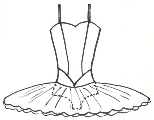 ballerina tutu template google search bunheads assemble