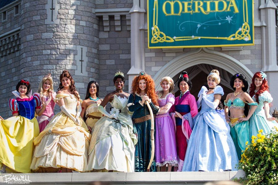 The Princesses All Together To Cheer On Their Newest Princess