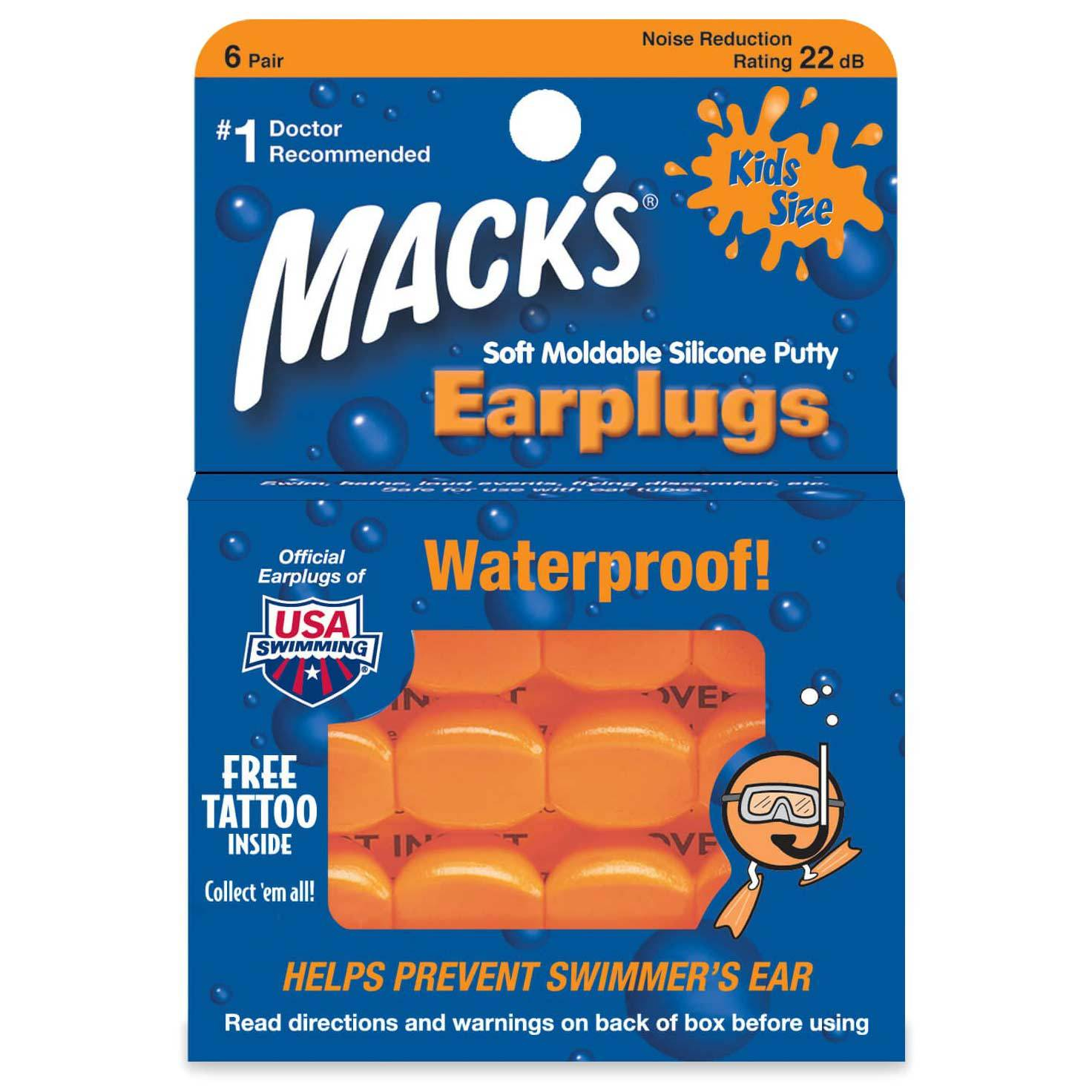 Macks Pillow Soft Ear Plugs White