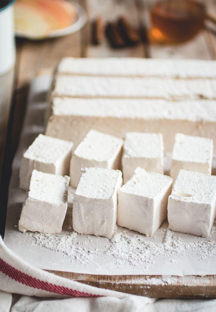 Apple Cider Marshmallows #marshmallows