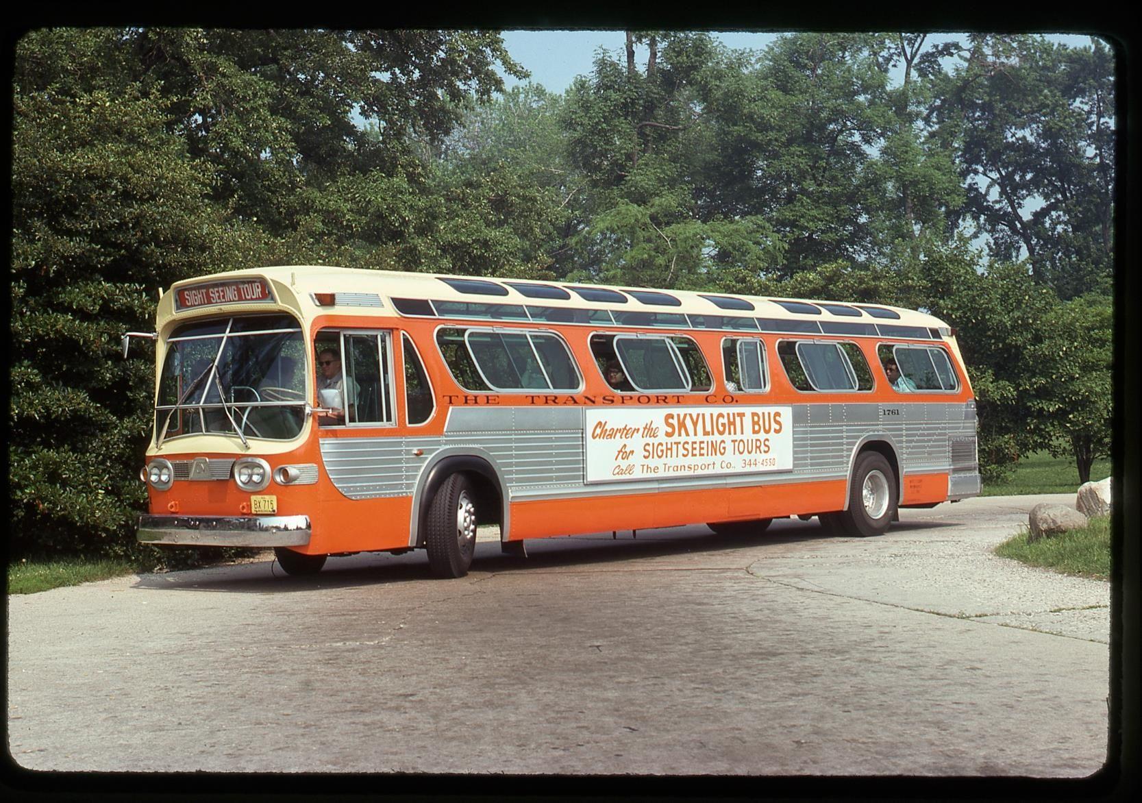 "GM new look ""Skylight Bus"". The Milwaukee Transport"