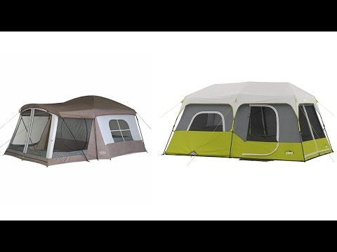 Top 10 Best Family C&ing Tents 2017 - YouTube & Top 10 Best Family Camping Tents 2017 - YouTube | *Car Camping ...
