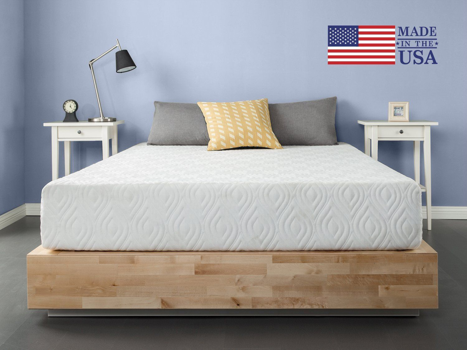 Zinus 10 Inch Gel Memory Foam Liberty Mattress Made In Usa Certipur Us Certified Queen Check Out This G Gel Memory Foam Mattress Zinus Gel Memory Foam