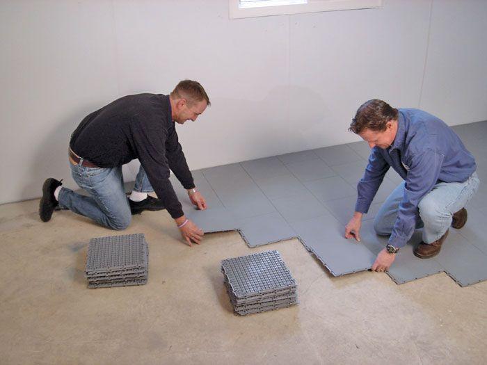 Bat Flooring Options Over Concrete Sub Floor Tileatting On A
